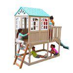 Parque infantil de Madera Highline Retreat de Kidkraft