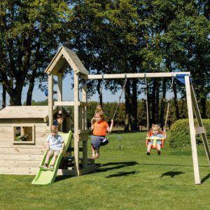 Parque infantil LookOut M con Columpio Doble