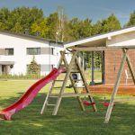 Parque Infantil de Madera Sofia con tobogan