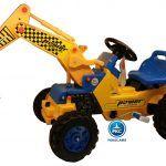 Tractor a Pedales Power Superior con Pala Excavadora Delantera