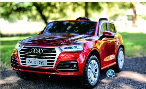 Audi Q5 24V MP4 2.4G 2 Plazas Rojo Metalizado 3