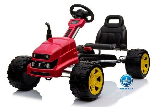 Kart a Pedales Case III Style Rojo 3