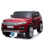 Land Rover Vogue 12V 2.4G MP4 Rojo Metalizado