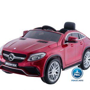 Mercedes GLE63 12V 2.4G Rojo Metalizado