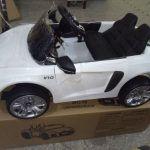 PEKECARS AUDI LITLE R8 SPYDER WHITE