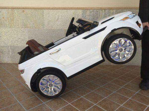 Range Rover Evoque Style 12V Blanco 11