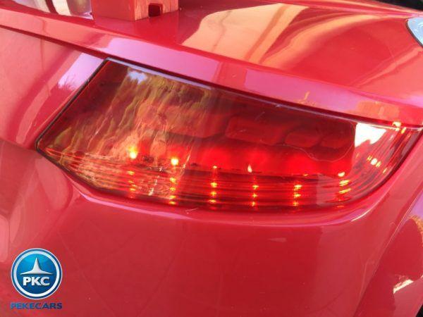 PEKECARS AUDI TT RS 12V RED 2.4G 12V 5