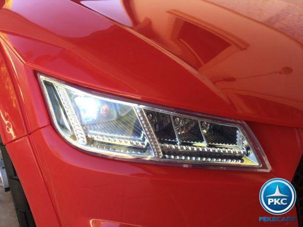 PEKECARS AUDI TT RS 12V RED 2.4G 12V 9