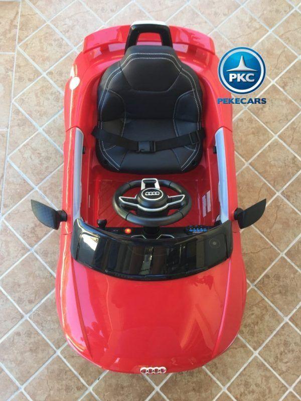 PEKECARS AUDI TT RS 12V RED 2.4G 12V 8