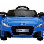 PEKECARS AUDI TT RS 12V BLUE 2.4G