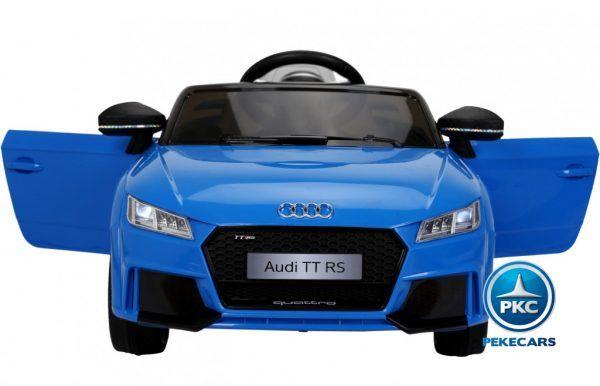 PEKECARS AUDI TT RS 12V BLUE 2.4G 4
