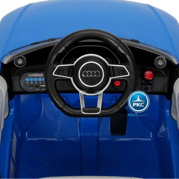 PEKECARS AUDI TT RS 12V BLUE 2.4G 6