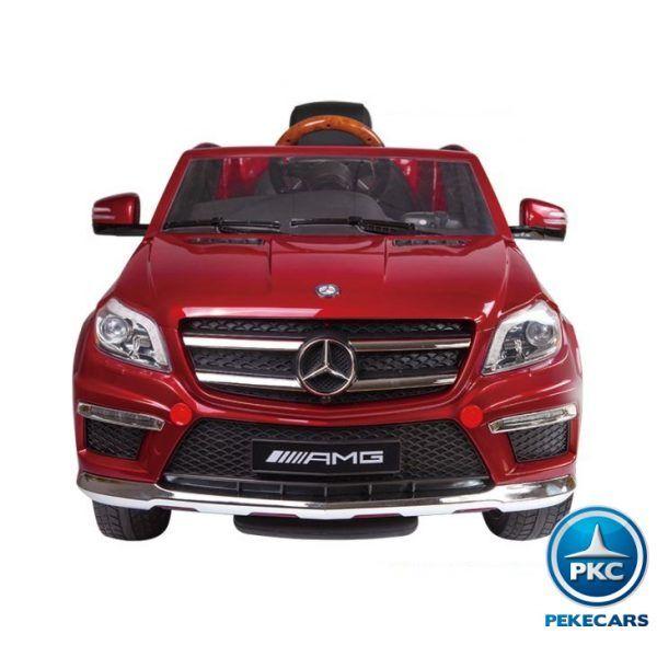 Mercedes GL63 Super Luxe 12V 2.4G Rojo de Una Plaza 4
