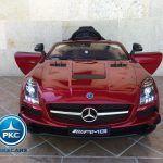 Mercedes Deportivo SLS Rojo