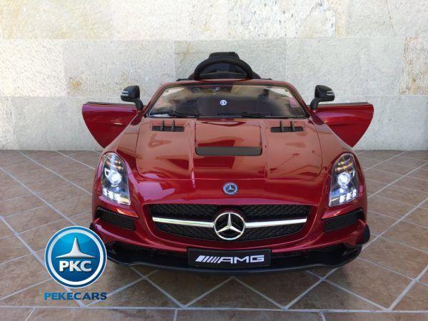 Mercedes Deportivo SLS Rojo 4