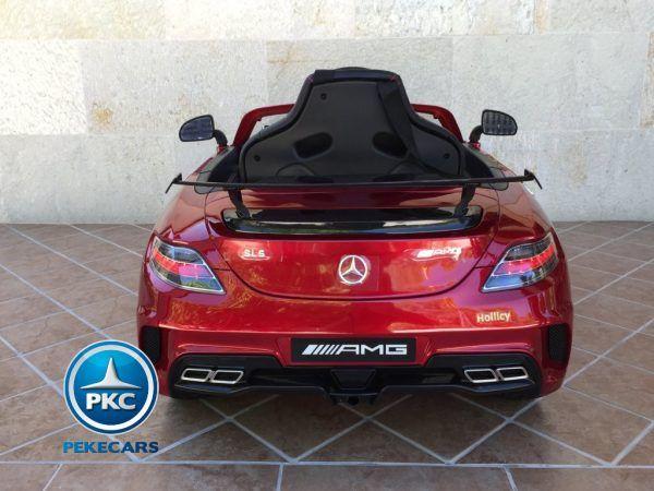 Mercedes Deportivo SLS Rojo 5