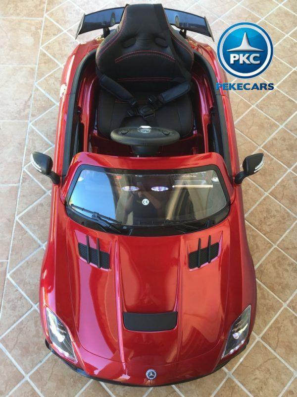 Mercedes Deportivo SLS Rojo 8