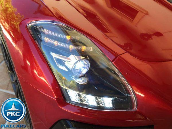 Mercedes Deportivo SLS Rojo 9