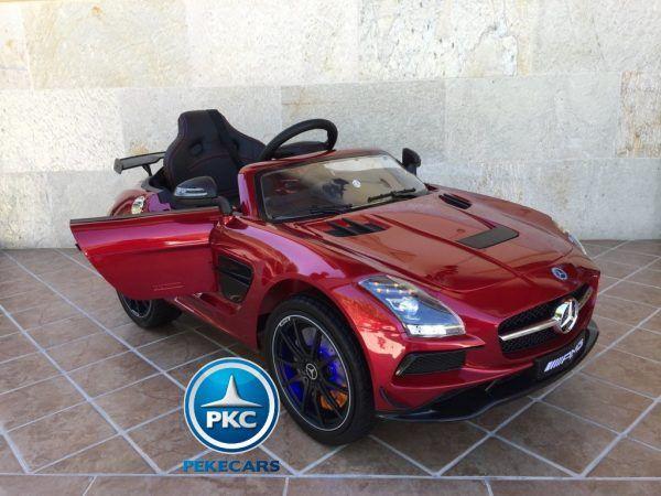 Mercedes Deportivo SLS Rojo 10