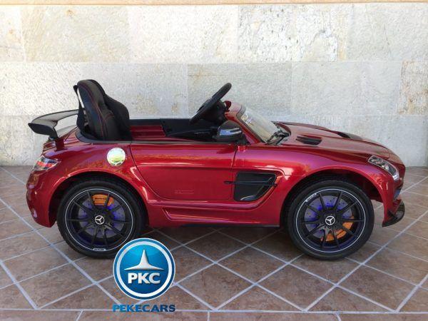 Mercedes Deportivo SLS Rojo 11