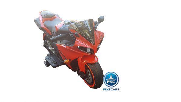 Moto eléctrica R1 Roja 3