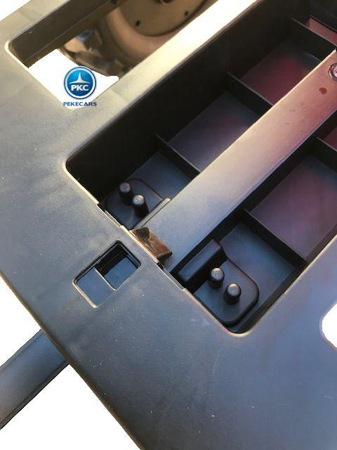 TRACTOR PEKETRAC 4100 12V 2.4G ROJO 10