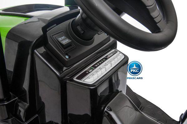 TRACTOR PEKETRAC 4100 12V 2.4G ROJO 5