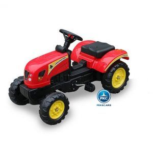 TRACTOR A PEDALES 3002 ROJO