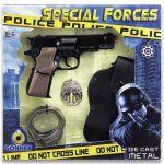 Estuche de Policía 8 Tiros Con Sonido